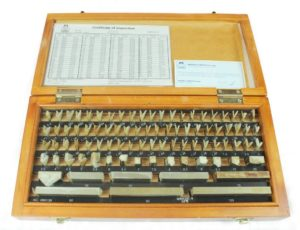 Gauge block set calibration from Rhopoint Metrology
